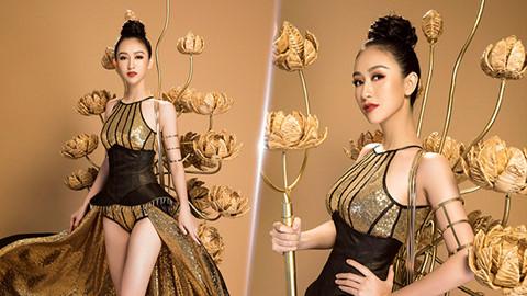 Hé lộ trang phục truyền thống của Hà Thu tại Hoa hậu Trái đất 2017