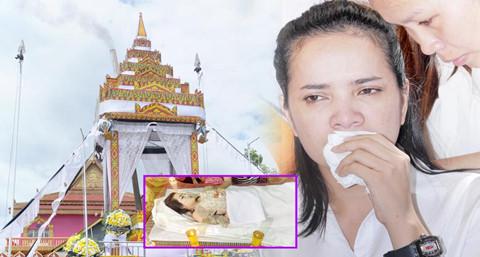Lễ tang sao nữ Campuchia bị chồng bắn chết: Người tình đến viếng
