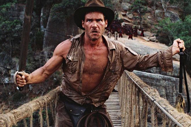 Người hùng Indiana Jones được bầu là nhân vật điện ảnh vĩ đại nhất