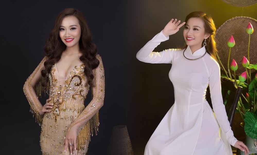 """Á khôi Miss Photogenic 2017: Khi là nữ sinh duyên dáng, lúc làm """"nữ hoàng"""" kiêu sang"""