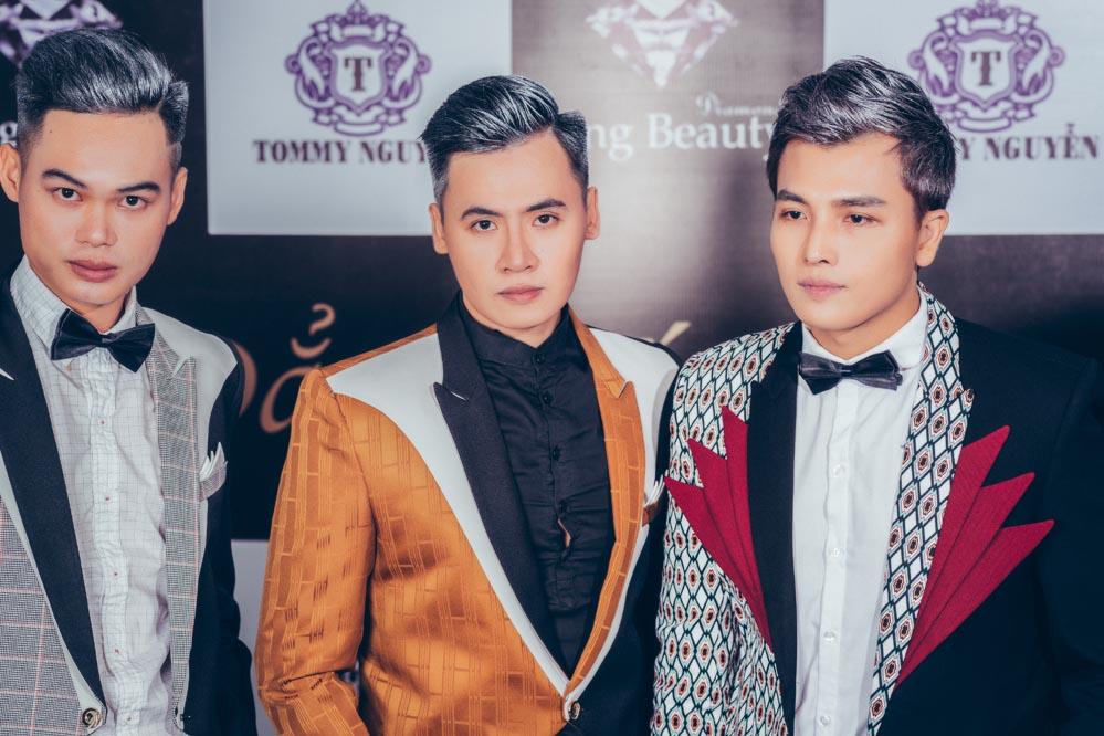 """Các mỹ nam """"chất lừ"""" trong BST mới của NTK Tommy Nguyễn"""