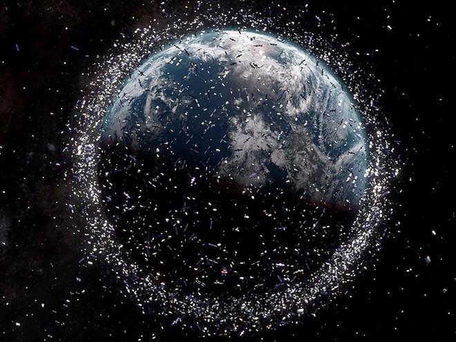 Những quốc gia thải nhiều rác ra vũ trụ nhất