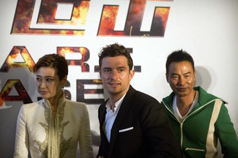 Orlando Bloom lần đầu đóng phim hành động châu Á