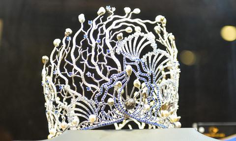 Hoa hậu Đại dương 2017 xác lập kỷ lục vương miện trị giá 3,2 tỷ đồng