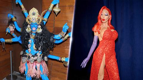 Những bộ trang phục Halloween độc đáo của siêu mẫu Heidi Klum