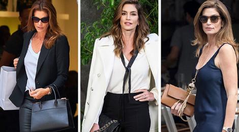 Bóc giá bộ sưu tập túi xách của cựu siêu mẫu Cindy Crawford