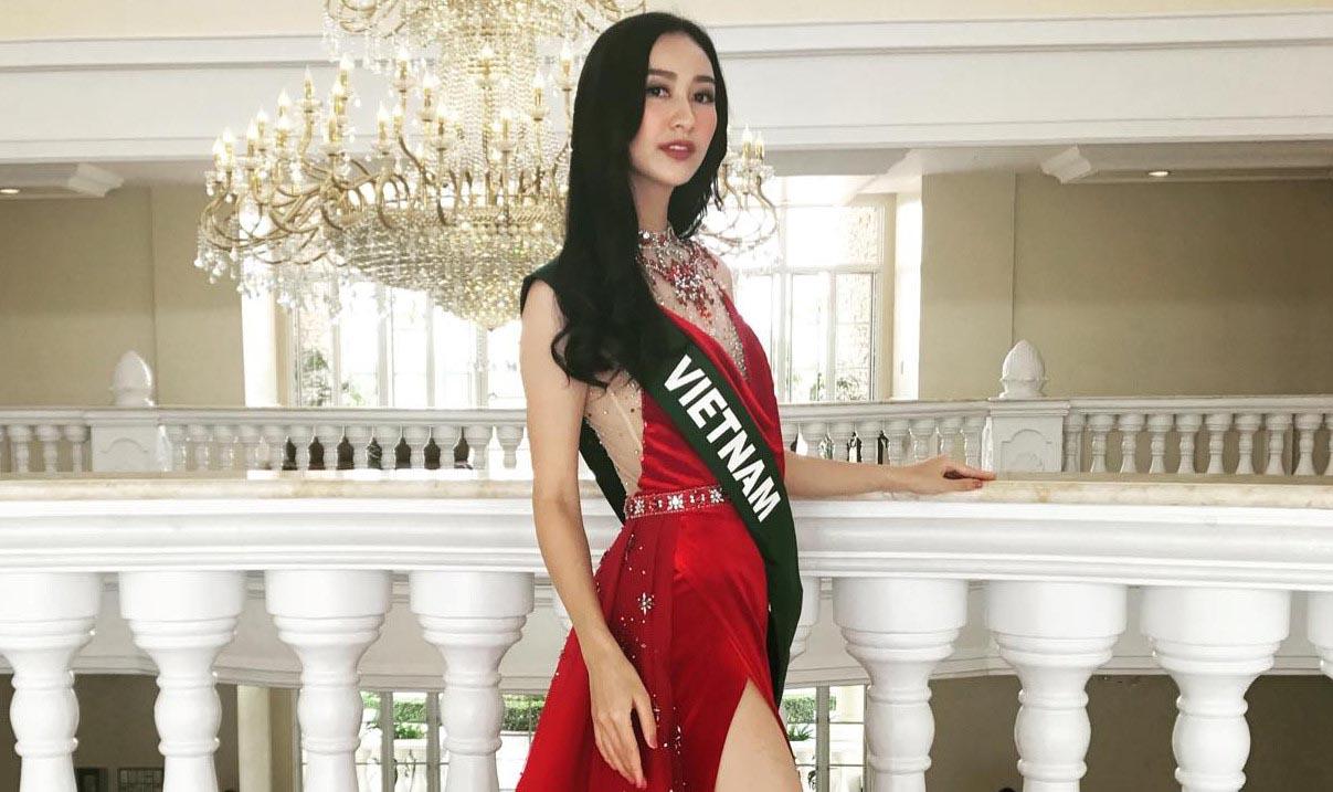 Thí sinh Hoa hậu Hoàn vũ Việt Nam cởi phăng váy nhảy bốc lửa