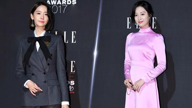 Yoona cổ điển, Kim Ji Won ăn vận sến sẩm trên thảm đỏ thời trang