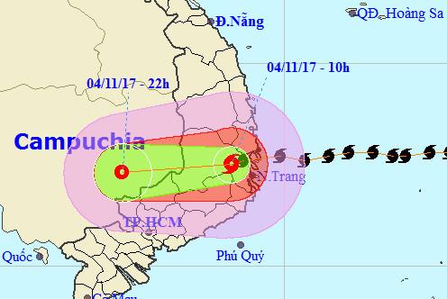 Bão số 12 tàn phá Khánh Hòa - Phú Yên, 3 người thiệt mạng