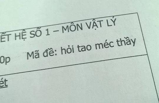 Hài hước với phương pháp chuyên trị học sinh lười của thầy cô
