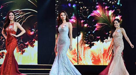 Những mẫu váy rườm rà tại bán kết Hoa hậu Hoàn vũ 2017
