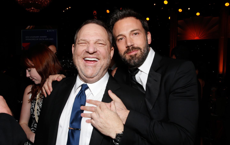 Ben Affleck sẽ quyên góp tiền kiếm được từ phim của Harvey Weinstein