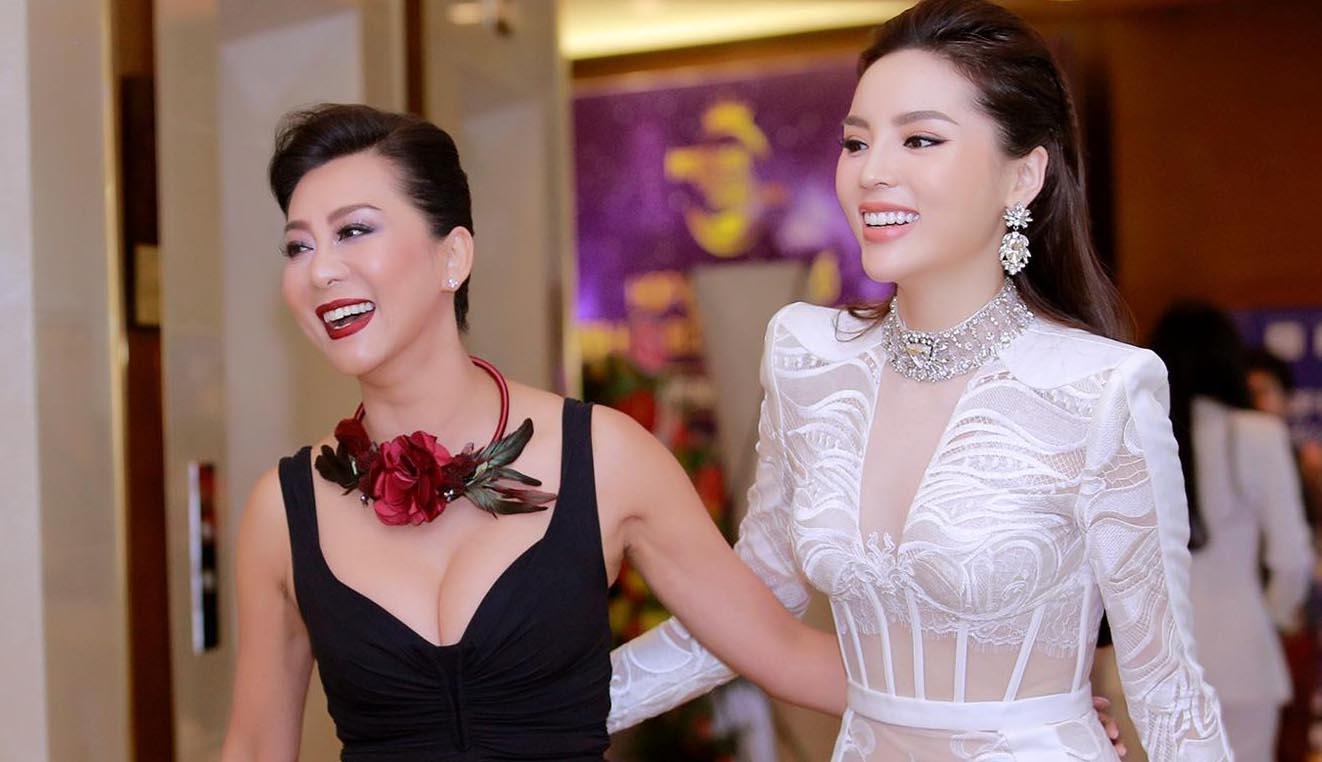 MC Kỳ Duyên, Hoa hậu Kỳ Duyên hội ngộ ở họp báo Hoa hậu biển