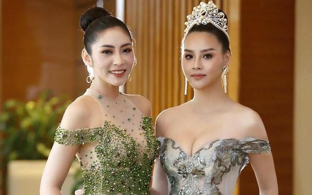 Bỏ vương miện, Đặng Thu Thảo vẫn dự sự kiện với mác Hoa hậu Đại dương