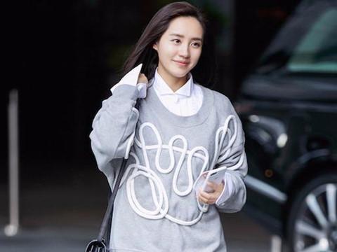 Mỹ nhân Hoa - Hàn gợi ý cách diện sơ mi dáng dài cá tính