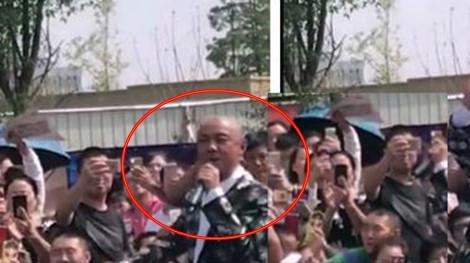 Khán giả không nhận ra khi Trương Vệ Kiện về quê biểu diễn
