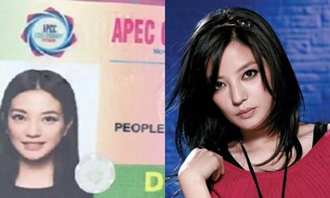 """""""Tiểu Yến Tử"""" Triệu Vy đến Đà Nẵng dự APEC 2017?"""