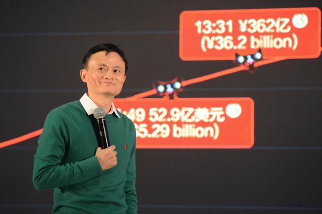 Alibaba của Jack Ma vừa thu về 18 tỷ USD trong nửa ngày