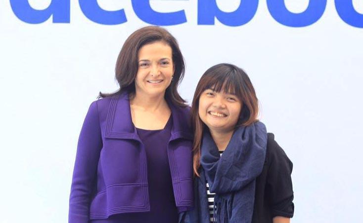 """Cô gái Việt """"truyền lửa"""" cho nữ tướng của Facebook"""