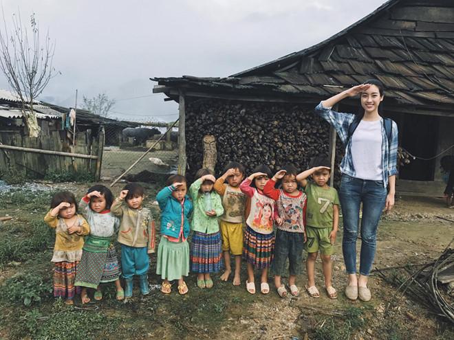 """Đỗ Mỹ Linh lọt top 20 """"Người đẹp nhân ái"""" của Miss World 2017"""
