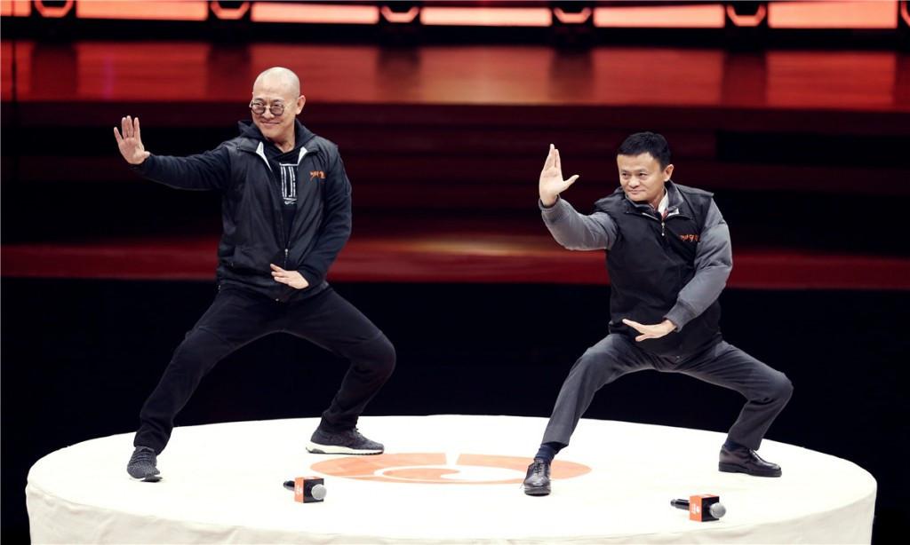 Jack Ma, Lý Liên Kiệt múa võ: Kịch hay kết thúc, công phu ra đời