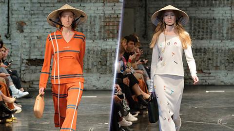 Nón lá Việt Nam xuất hiện trong show diễn thời trang quốc tế