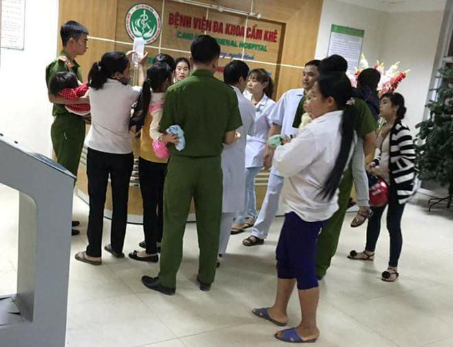 Gần 100 học sinh mầm non nhập viện sau bữa ăn trưa