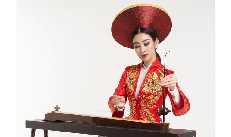 Hoa hậu Mỹ Linh nỗ lực quảng bá văn hóa dân tộc tại Miss World 2017