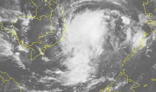 Bão số 14 sức gió 90 km/h khi áp sát Nam Trung Bộ