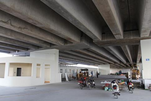 Dẹp quán ăn dưới gầm cao tốc hiện đại nhất Việt Nam