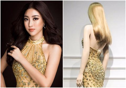 Mỹ Linh sẽ diện đầm dạ hội hở lưng ở chung kết Hoa hậu Thế giới