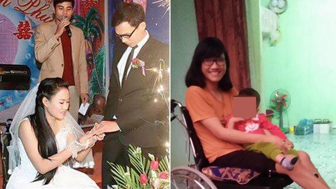 Thầy giáo xứ Thanh bất chấp tất cả để cưới cô gái bị liệt hai chân