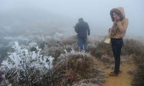 Nhiệt độ miền Bắc giảm sâu, Mẫu Sơn dưới 6 độ C