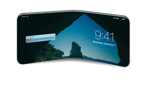 iPhone màn hình gập được đăng ký bản quyền