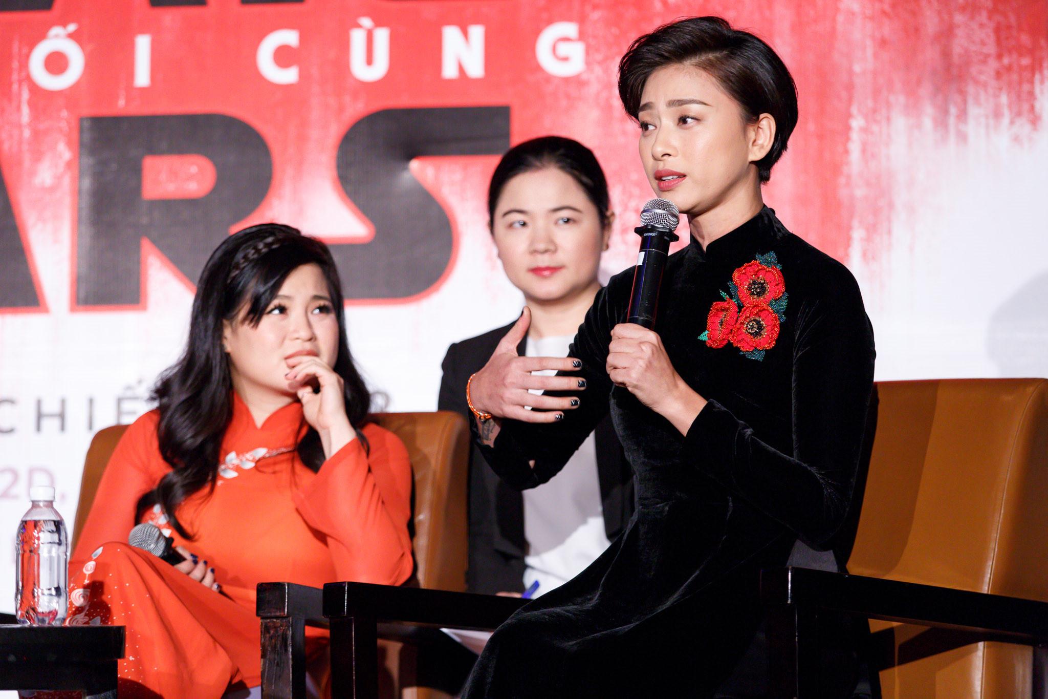 """Ngô Thanh Vân và bạn diễn gốc Việt áp lực khi đóng """"Star Wars"""""""