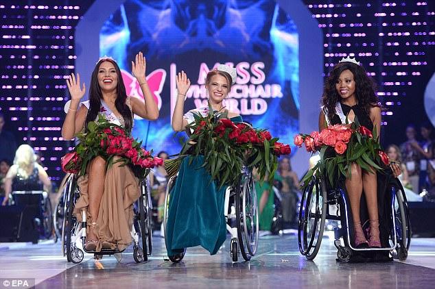 Chiêm ngưỡng nhan sắc các người đẹp Hoa hậu Xe lăn Thế giới
