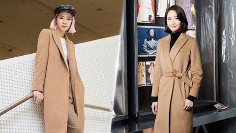 Dàn sao Hàn đồng loạt diện áo khoác dáng dài tại sự kiện thời trang