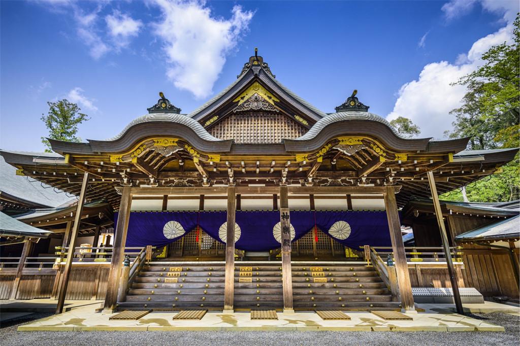 Ngôi đền linh thiêng nhất Nhật Bản 20 năm xây lại một lần