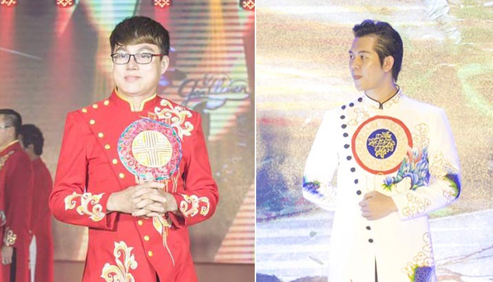 NTK Tommy Nguyễn trình diễn và đấu giá thành công mẫu áo dài trong BST mới nhất