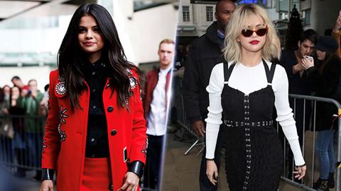 Selena Gomez nâng tầm phong cách với mái tóc nhuộm cá tính