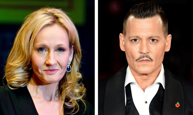 """J.K. Rowling ủng hộ Johnny Depp góp mặt trong """"Fantastic Beasts"""""""