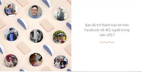 """Ứng dụng """"nhìn lại một năm"""" vừa xuất hiện trên Facebook VN"""