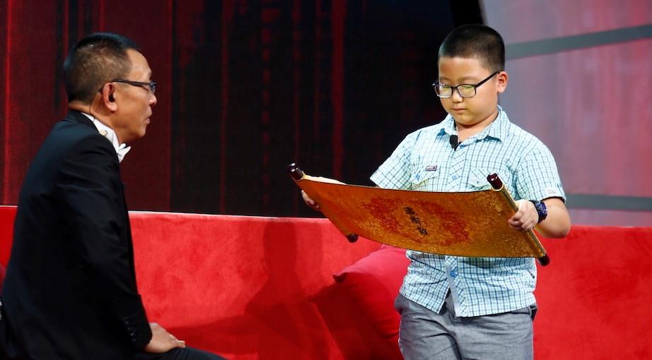 Cậu bé 10 tuổi thuộc sử Việt khiến MC Lại Văn Sâm thán phục