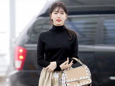 Mỹ nhân Hàn gợi ý cách diện chân váy ngày lạnh