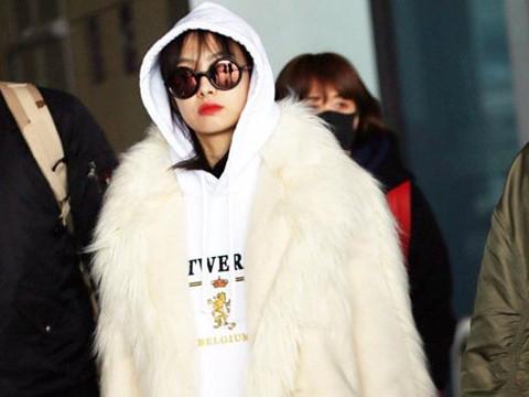 Người đẹp Hoa ngữ chuộng mốt giấu quần ngày lạnh