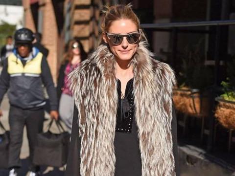 Mix áo khoác không tay sành điệu như Olivia Palermo