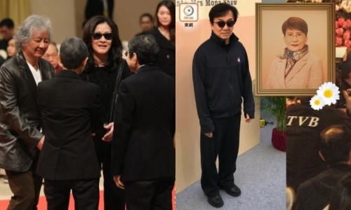 """Thành Long và dàn sao dự lễ tưởng nhớ """"nữ tướng TVB"""""""