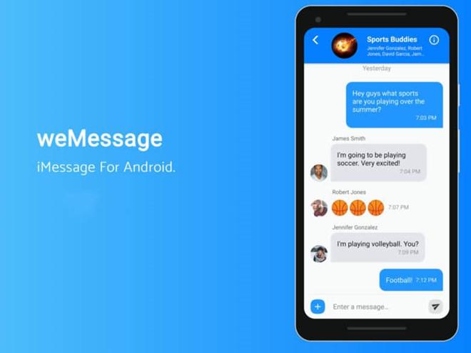 Lập trình viên trẻ tuổi mang iMessage lên hệ điều hành Android