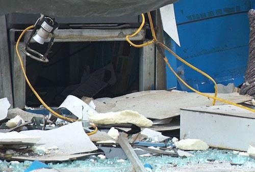 Nhân chứng kể lại vụ nổ như bom tại cây ATM