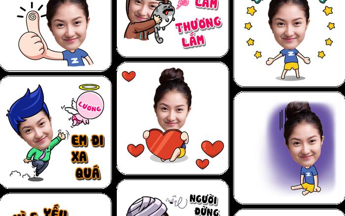 Zamoji - Ứng dụng tạo sticker ảnh cá nhân để chat chit